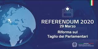 Referendum Costituzionale 29/03/2019 - Voto Elettori Residenti all'Estero